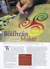 Welcome Magazine Bodhran Article