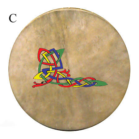 14 Bodhran with Celtic Design